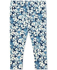Ralph Lauren Floral Leggings, Baby Girls