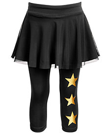 Ideology Little Girls Skirted Stars Capri Leggings, Created for Macy's
