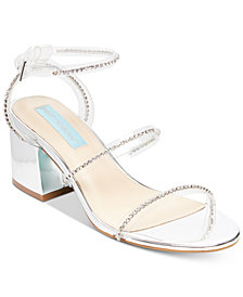 Blue By Betsey Johnson Sami Evening Sandals