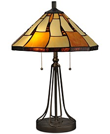 Nero Tiffany Table Lamp
