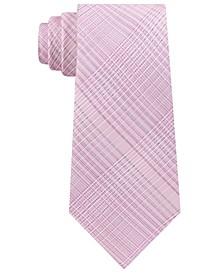 Men's Hi-Ridge Plaid Slim Tie