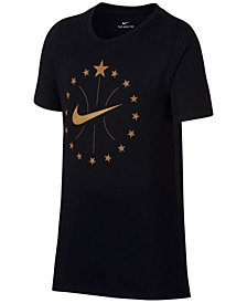 Nike Big Boys Stars-Print T-Shirt
