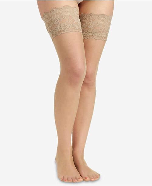 7f95d84c37443 Berkshire Women s Sheer Shimmer Thigh Highs Hosiery 1340   Reviews ...