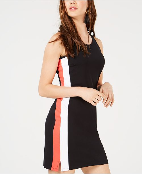 Dress Varsity Stripe Bar Black III Macy's Sheath for Created qxACnw