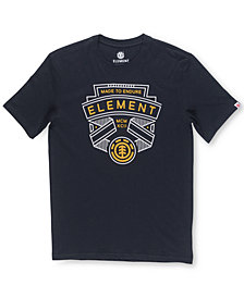Element Men's Askew Logo-Print T-Shirt