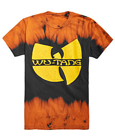 FEA Men's Tie Dye Wu-Tang Clan Graphic T-Shirt