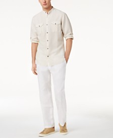 I.N.C. Linen Pants & Fuji Shirt, Created for Macy's