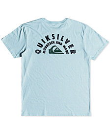 Quiksilver Men's Circle Of Grunge Logo-Print T-Shirt