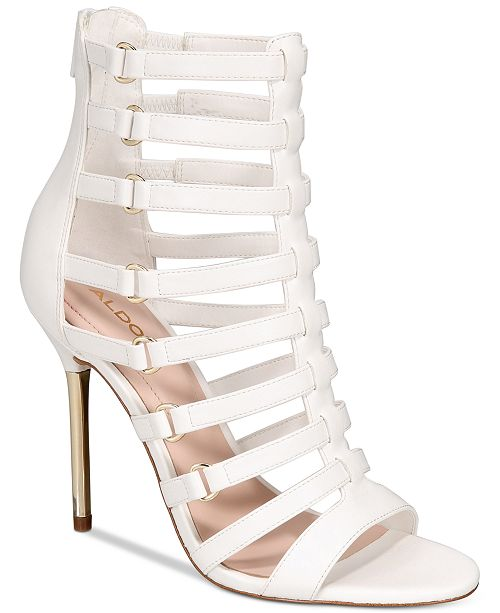 Aldo Unaclya Gladiator Dress Sandals Women's Shoes 8NHiWnPAU