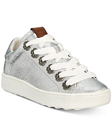 COACH C101 Tea Rose Grommet Sneakers