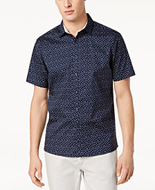 I.N.C. Men's Owens Printed Shirt, Created for Macy's