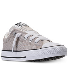 Converse Little Boys' Chuck Taylor Street Ox Casual Sneakers from Finish Line