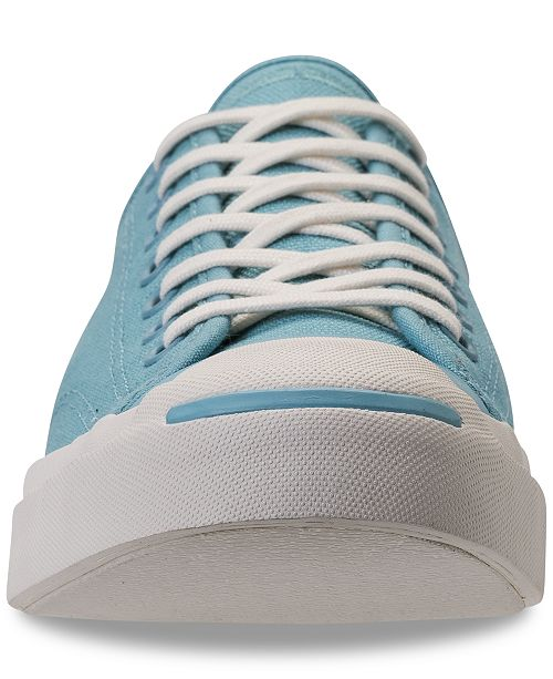 5e9b034ecc39 ... Converse Men s Jack Purcell Jack Ox Casual Sneakers from Finish Line ...