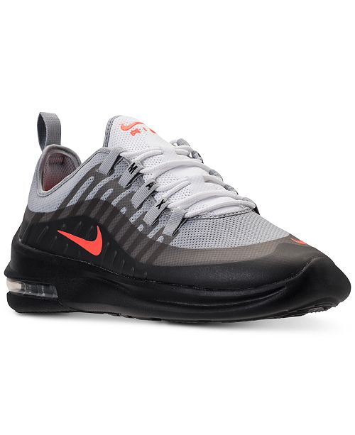 huge selection of 3a086 d1860 ... Nike Men s Air Max Axis Casual Sneakers from Finish ...