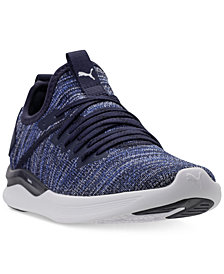 Puma Big Boys' Ignite Flash Evoknit Casual Sneakers from Finish Line