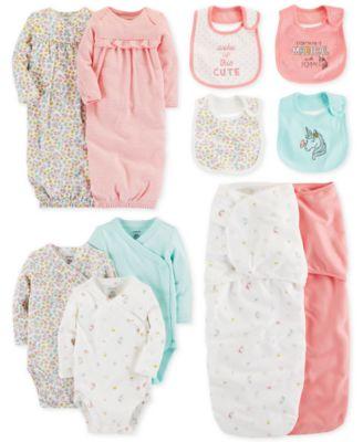 542c40cf4c Carter s Baby Girls 2-Pack Cotton Sleeper Gowns - Pajamas - Kids ...