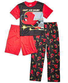Disney's® The Incredibles Little & Big Boys 3-Pc. Pajama Set