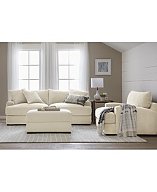 Rhyder Fabric Sofa Collection, Created for Macy's
