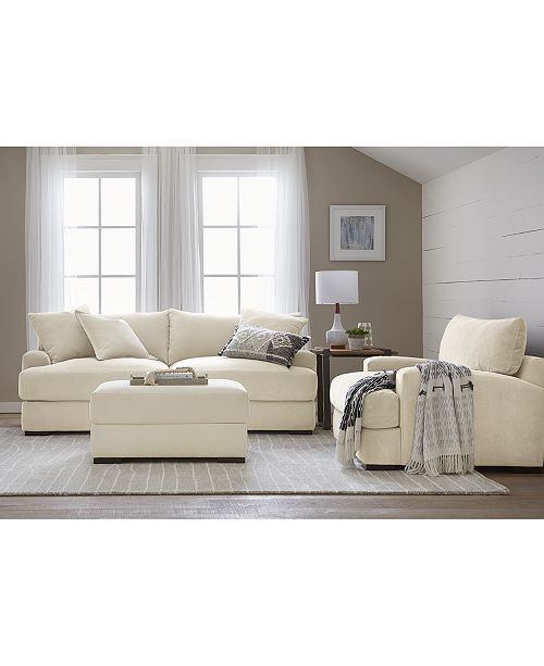Furniture Rhyder Fabric Sofa Collection, Created for Macy's