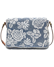 Patricia Nash Spanish Villa Mondovi Denim Crossbody