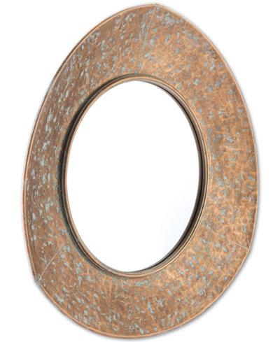Zuo Irma Gold-Tone Mirror