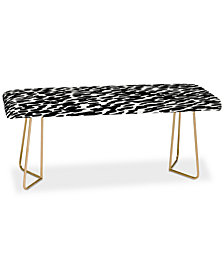 Deny Designs Rebecca Allen I Got it in Paris Darling Bench
