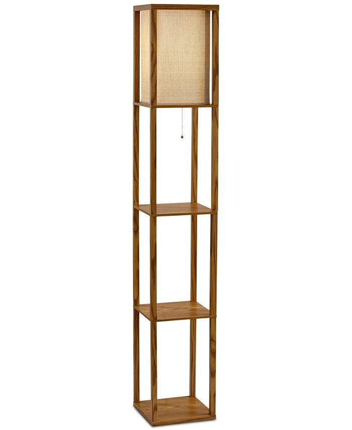 Adesso - Wright Shelf Floor Lamp