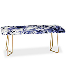 Deny Designs Jacqueline Maldonado Changes Indigo Bench