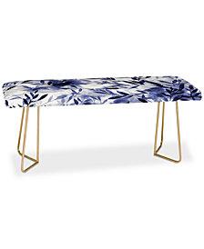 Deny Designs Jacqueline Maldonado Changes Indigo Bench
