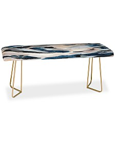 Deny Designs Laura Fedorowicz Parchment Abstract One Bench