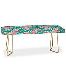 Deny Designs Jacqueline Maldonado Floral Dot Bench