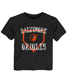 Outerstuff Baltimore Orioles Fan Base T-Shirt, Toddler Boys (2T-4T)