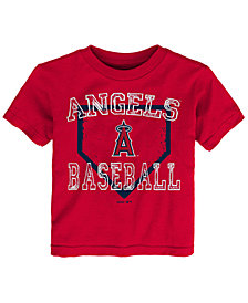 Outerstuff Los Angeles Angels Fan Base T-Shirt, Toddler Boys (2T-4T)