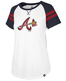 '47 Brand Women's Atlanta Braves Flyout T-Shirt