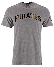 '47 Brand Men's Pittsburgh Pirates Fieldhouse Basic T-Shirt