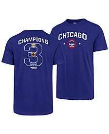 '47 Brand Men's Chicago Cubs Coop MVP Collection T-Shirt