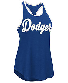 G-III Sports Women's Los Angeles Dodgers Oversize Logo Tank