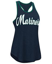 G-III Sports Women's Seattle Mariners Oversize Logo Tank