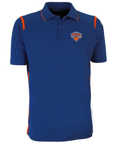Antigua Men's New York Knicks Merit Polo Shirt