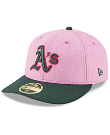 New Era Oakland Athletics Mothers Day Low Profile 59Fifty Fitted Cap