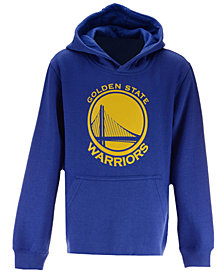 Outerstuff Golden State Warriors Primary Logo Hoodie, Big Boys (8-20)