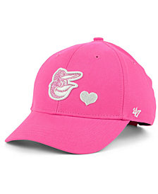 '47 Brand Girls' Baltimore Orioles Sugar Sweet MVP Cap