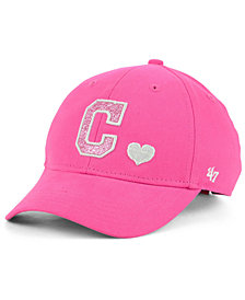 '47 Brand Girls' Cleveland Indians Sugar Sweet MVP Cap