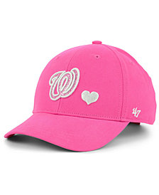 '47 Brand Girls' Washington Nationals Sugar Sweet MVP Cap