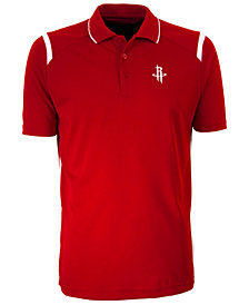 Antigua Men's Houston Rockets Merit Polo Shirt