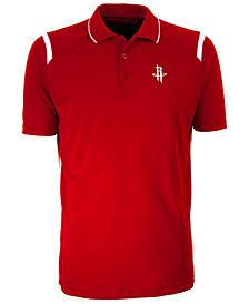 Antigua Men's Houston Rockets Merit Polo Shirt