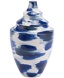 Zuo Pinto Blue & White Medium Vase