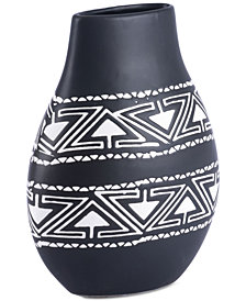 Zuo Kolla Black & White Small Vase