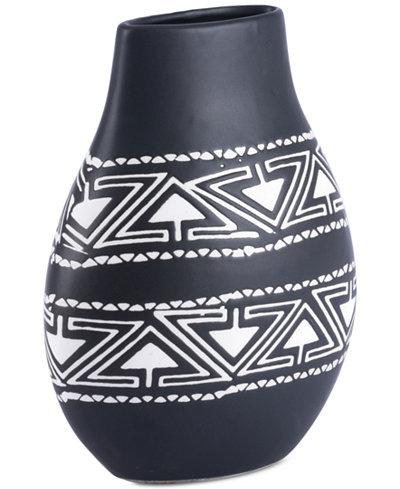 Zuo Kolla Black & White Small Vase