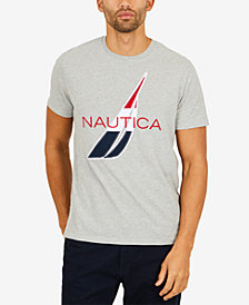Nautica Men's Logo Graphic-Print T-Shirt, Created for Macy's